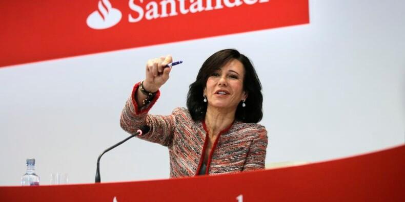 Santander annonce un bénéfice trimestriel en hausse de 70%
