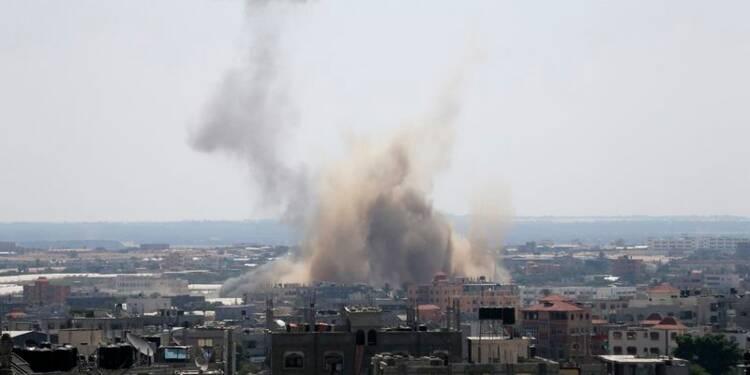 """Israël dit frapper des """"sites terroristes"""" de Gaza"""