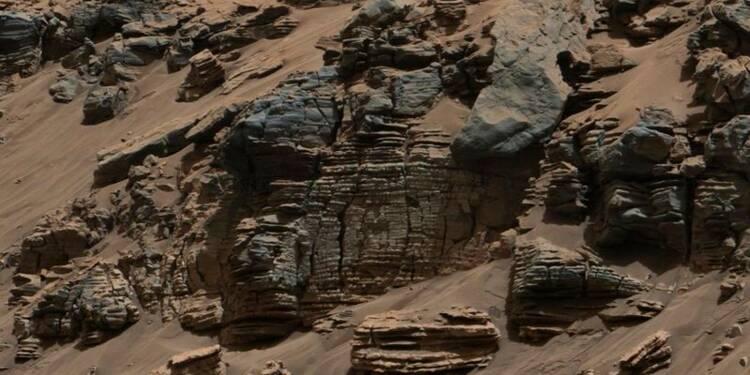 Curiosity détecte molécules organiques et méthane sur Mars