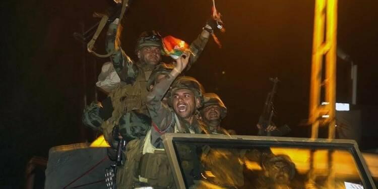 Les peshmergas irakiens sont entrés dans Kobani