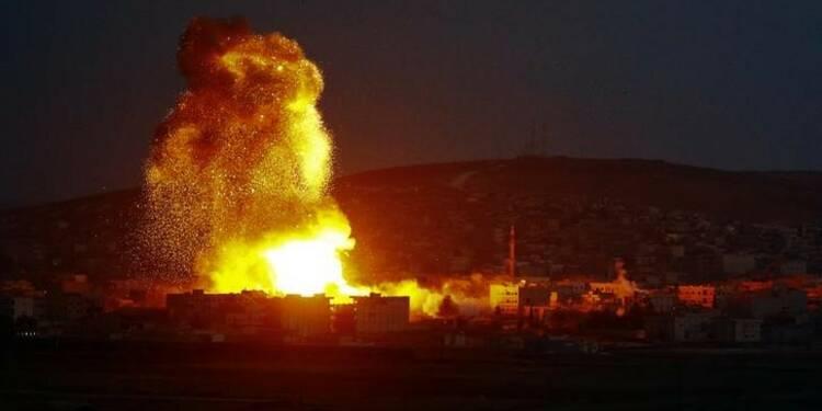 Bombardements américains et pilonnages de l'EI sur Kobani