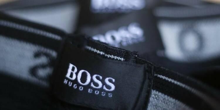 Hugo Boss livre des résultats inférieurs aux attentes
