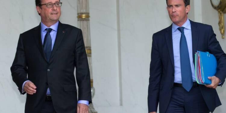 La cote de François Hollande stable, du mieux pour Manuel Valls