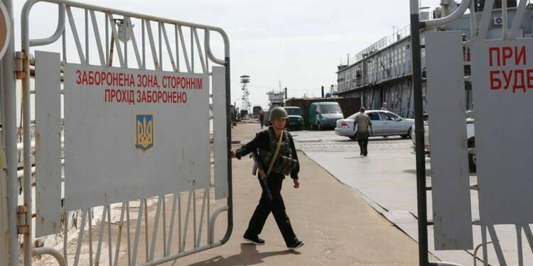 Combats près de Marioupol, dans le sud-est de l'Ukraine