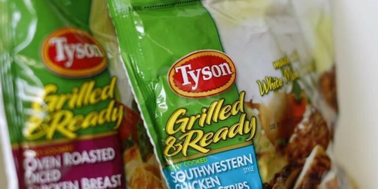 La fusion Tyson Foods-Hillshire approuvée par les autorités