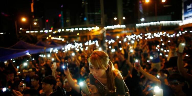 Hong Kong reste mobilisé, les cérémonies n'ont pas dégénéré