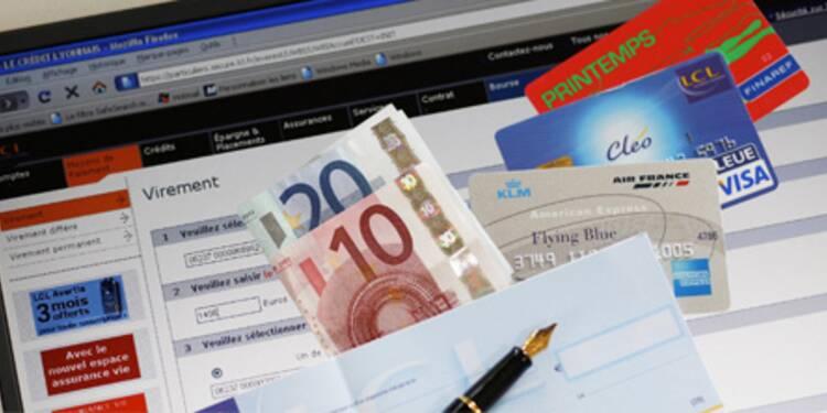 Frais bancaires : passez à la banque en ligne, les services sont le plus souvent gratuits