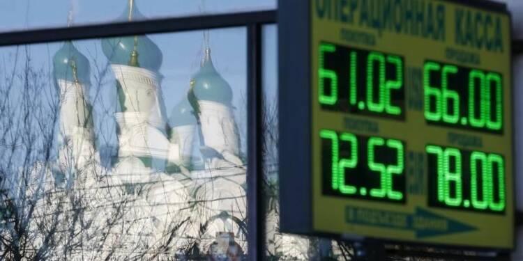 Fitch abaisse la note souveraine de la Russie à BBB-