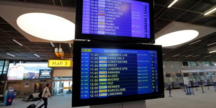 Blocage à Air France, 60% des vols annulés mercredi