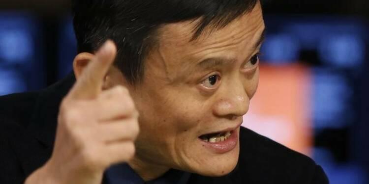 L'action Alibaba s'envole pour ses débuts boursiers