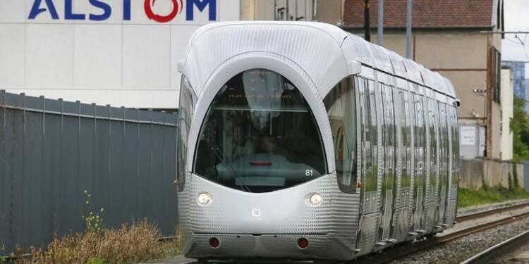 Alstom attend une progression de sa branche transposts