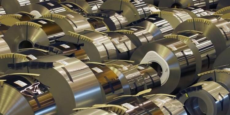Sombres prévisions 2015 pour ArcelorMittal, mais l'action monte