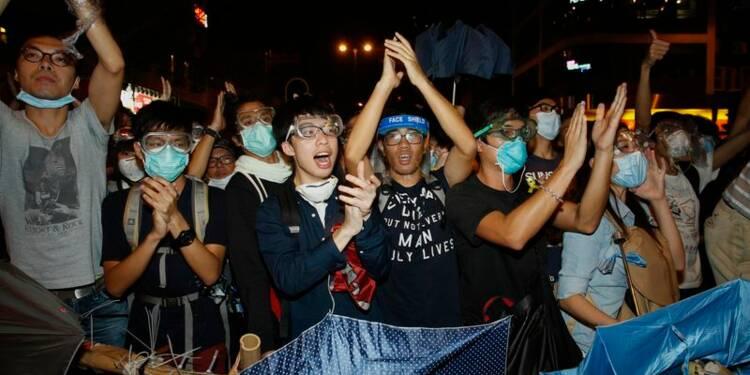 Les manifestants hongkongais reviennent en force à Mong Kok