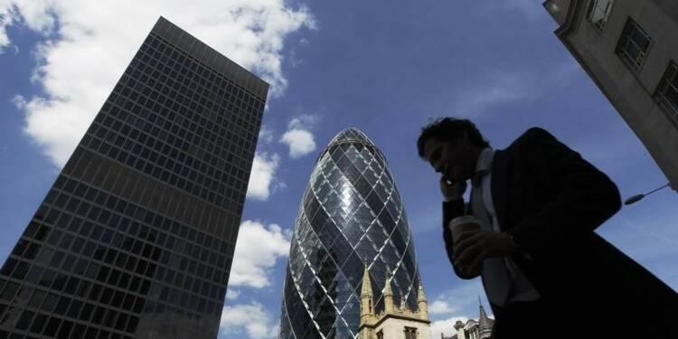 La croissance annuelle britannique revue en baisse au 3e trimestre