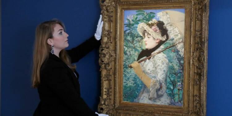 """""""Le Printemps"""" d'Edouard Manet adjugé 65,1 millions de dollars"""