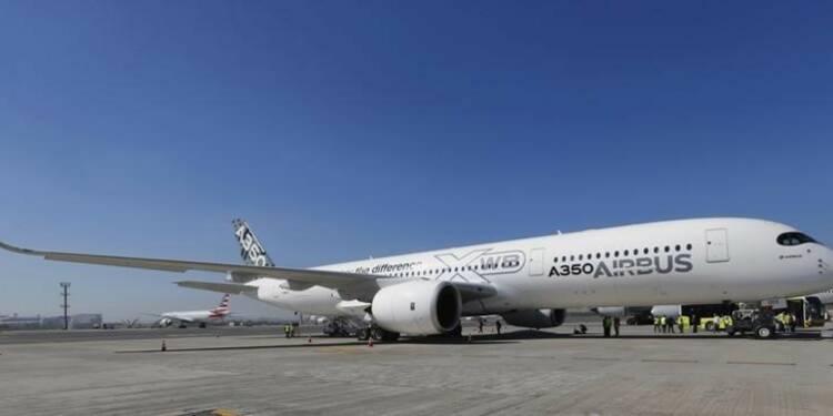 Airbus relève sa prévision de commandes à horizon 20 ans