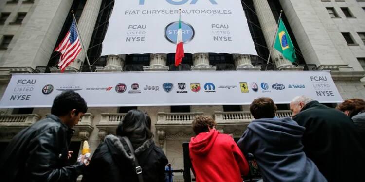 Fiat Chrysler Automobiles fait ses débuts à Wall Street