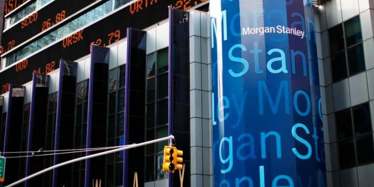 Morgan Stanley affiche un bénéfice inférieur aux attentes