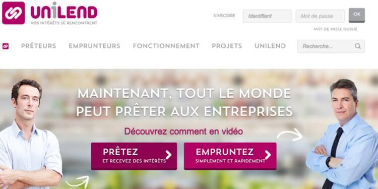 Unilend, le site qui permet aux particuliers de prêter aux PME