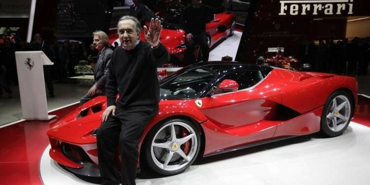 Ferrari pas éternellement nécessaire à Fiat, dit Marchionne