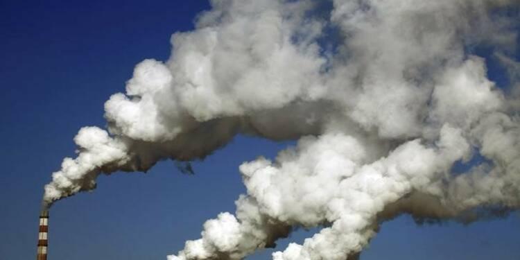Les émissions de CO2 ont stagné en 2014