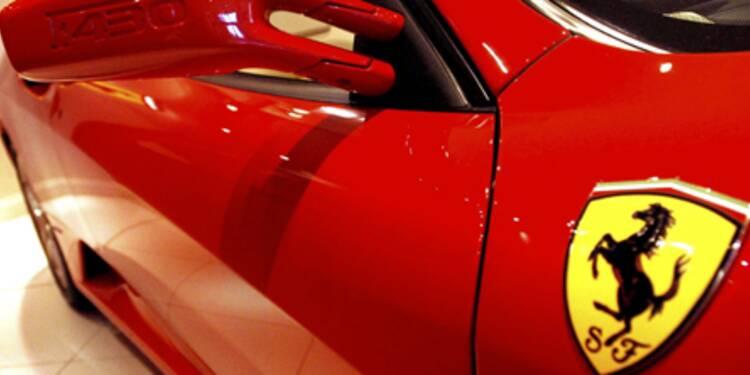 La peur du fisc fait chuter les ventes de Ferrari en Italie