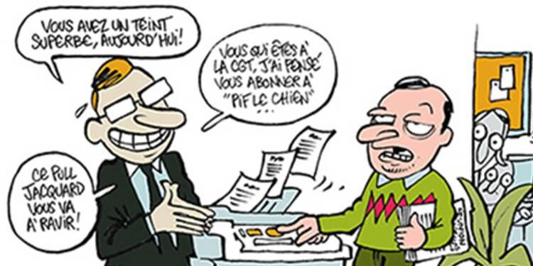 Quand les dessinateurs de Charlie Hebdo caricaturent la vie de l'entreprise