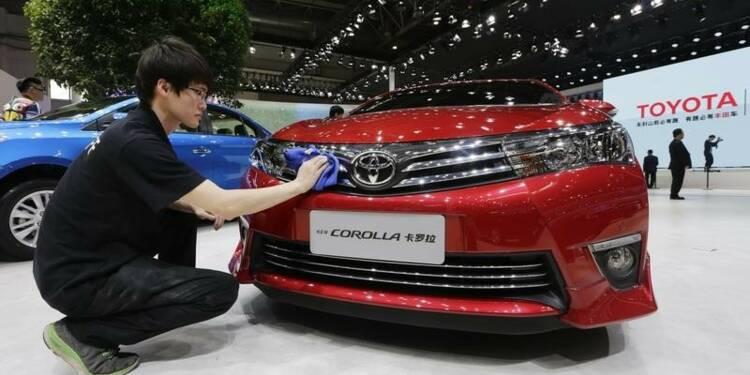 Toyota devrait rater son objectif de ventes 2014 en Chine
