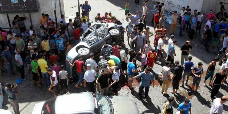 Nouveaux raids aériens sur Gaza, au moins neuf morts