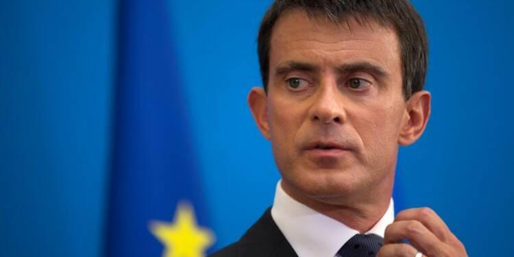 """Valls pardonne à Taubira sa visite aux """"frondeurs"""" à La Rochelle"""