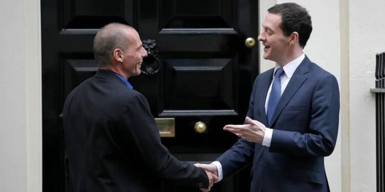 Osborne met en garde contre une confrontation Grèce-zone euro