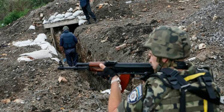 Kiev accuse Moscou de combattre aux côtés des rebelles