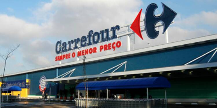 L'optimisme de Carrefour met en exergue l'avertissement de Casino
