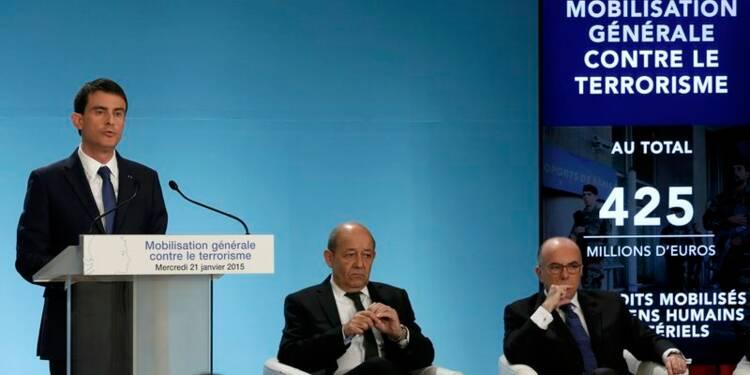 Manuel Valls mobilise hommes et moyens contre le terrorisme