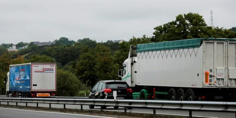 Blocages routiers en vue avant les négociations sur les salaires