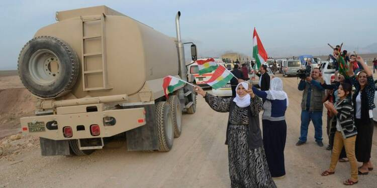 Les peshmergas irakiens attendus à Kobani