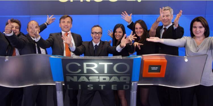 Wall Street applaudit les résultats du français Criteo