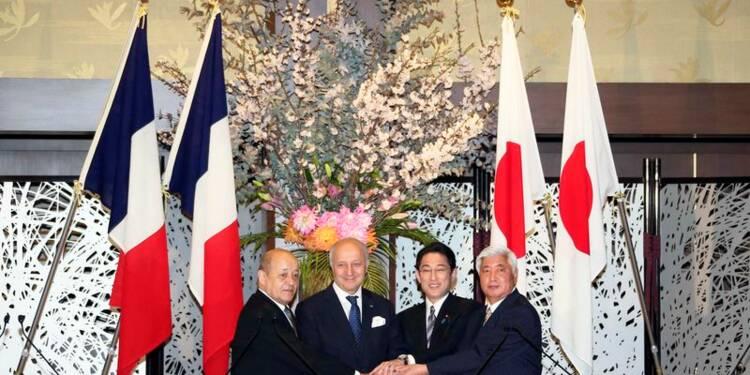 La France et le Japon signent un accord de coopération militaire