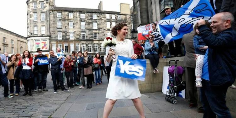 Le oui et le non à l'indépendance de l'Ecosse au coude-à-coude