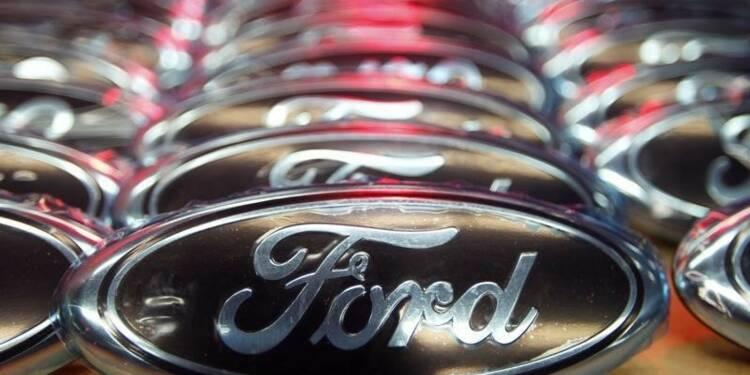 Ford abaisse sa prévision de bénéfice imposable