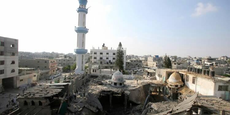Israël pilonne Gaza sur fond de tractations diplomatiques