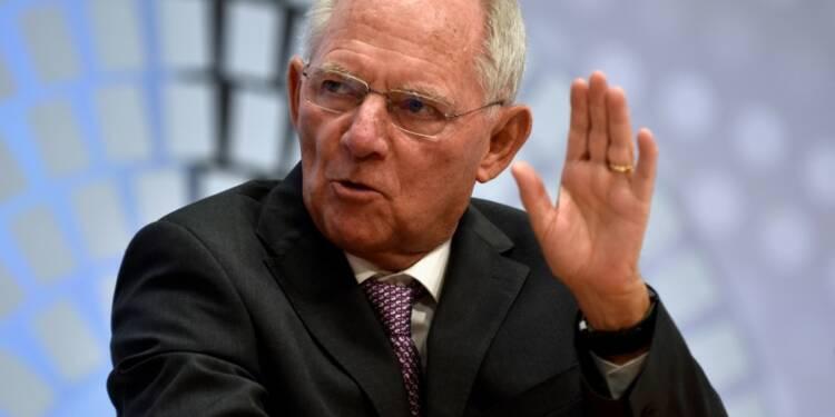 Schäuble défend la création d'un Parlement de la zone euro