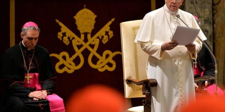 """Le pape François juge la Curie atteinte d'""""Alzheimer spirituel"""""""