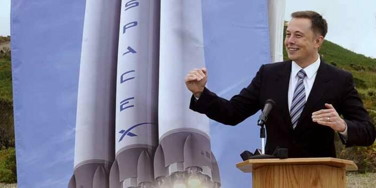 """""""Objectif Mars"""" pour le milliardaire américain Elon Musk"""