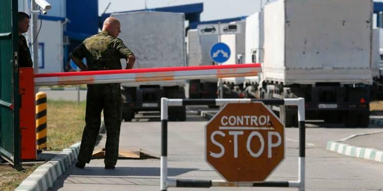 Les camions russes font mouvement vers l'Ukraine