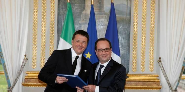 Paris et Rome s'engagent à poursuivre les travaux de Lyon-Turin
