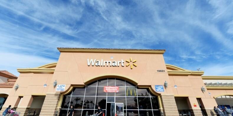 L'action Wal-Mart en forte hausse avec les ventes aux USA