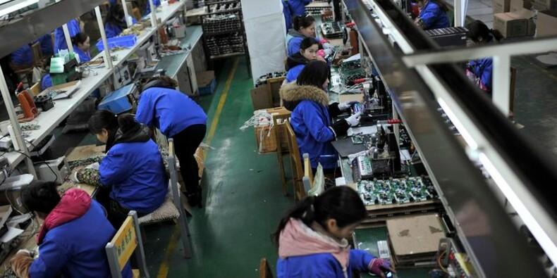 Nouvelle contraction dans l'industrie en janvier en Chine