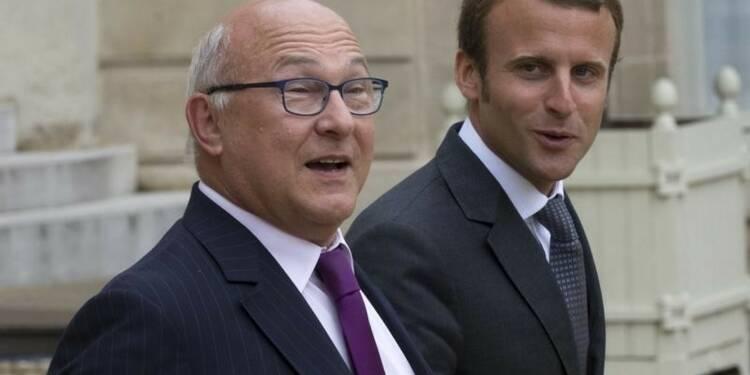 Michel Sapin réaffirme le cap économique du gouvernement