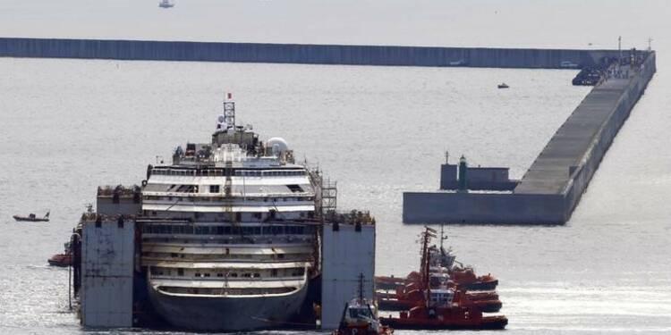 Un dernier corps aurait été retrouvé dans le Costa Concordia